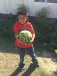 Alex 2 years ago picking Grant's watermelon LOL
